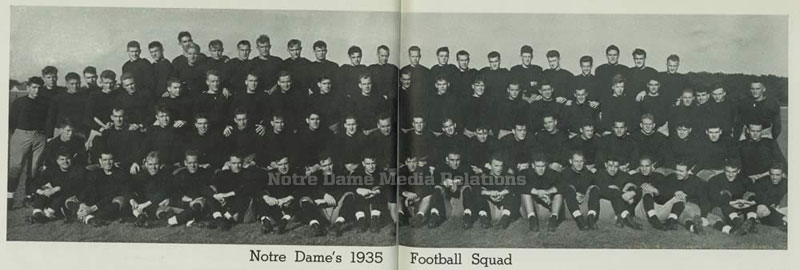 002: The 1935 Notre Dame Football team