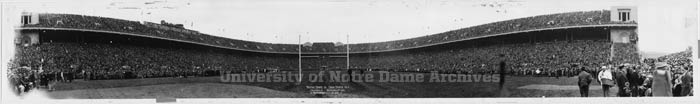 003: A panoramic shot of Ohio Stadium on Nov. 2, 1935