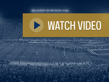 Lou Holtz Debut (1986 vs. Michigan) - Video