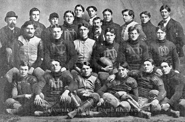 The 1901 Notre Dame football squad