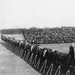 ND vs. Nebraska, 1921/1022. Wide angle view of the field and stands. Image from the University of Notre Dame Archives.