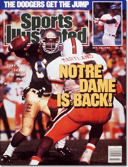 History with Miami // 125 Football // University of Notre Dame