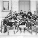 Football Team on the steps of Science Hall (LaFortune Hall), 1897