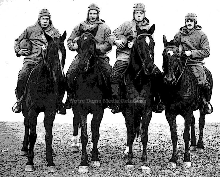 October 18, 1924: The Four Horsemen Arrive // Moments // 125
