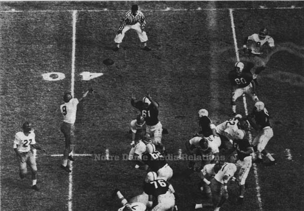 1957 ND - OU action photo