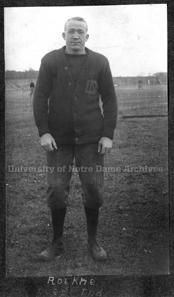 young Knute Rockne