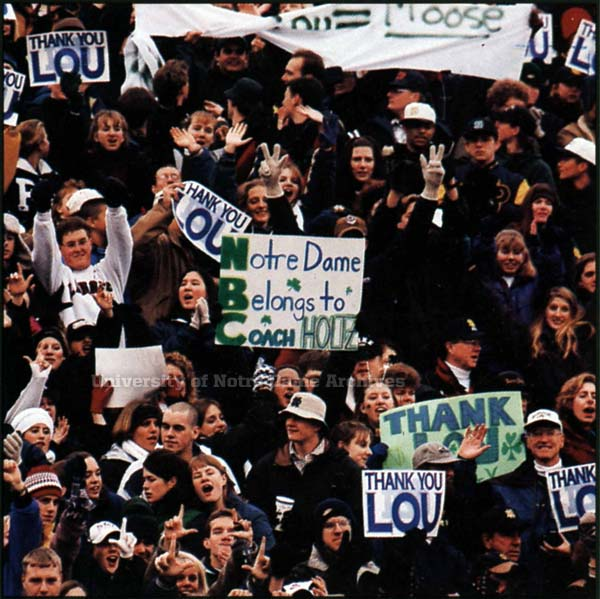 student section 1996 Rutgers game