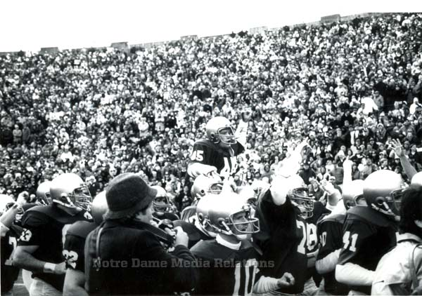 This Day In History: Filming Rudy (1992 vs  Boston College