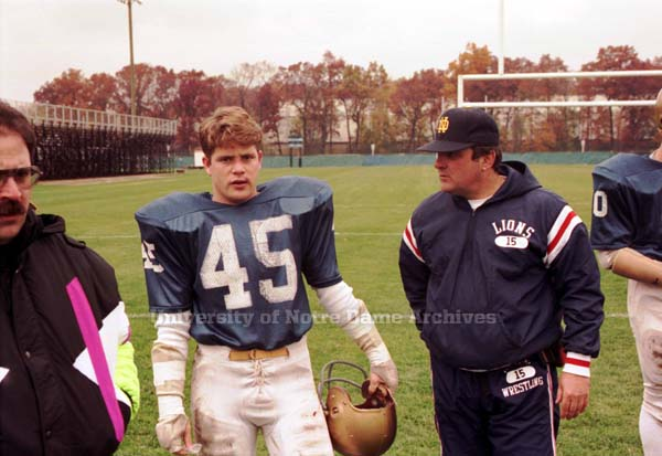 This Day In History: Filming Rudy (1992 vs. Boston College ...