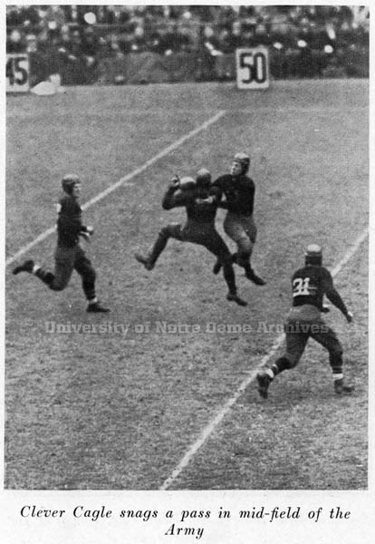1928 Notre Dame Army action photo
