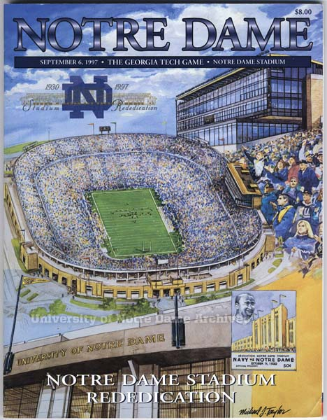 1997 Georgia Tech game program