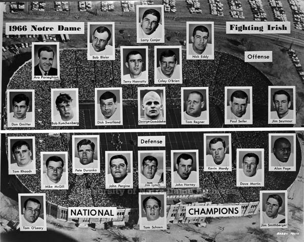 1966 Notre Dame football team