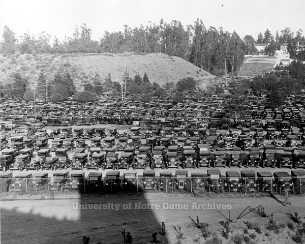 1925 Rose Bowl cars