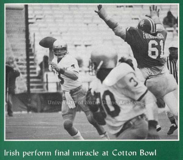 Joe Montana Cotton Bowl