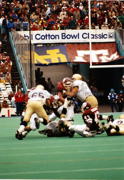 1993 Cotton Bowl scene